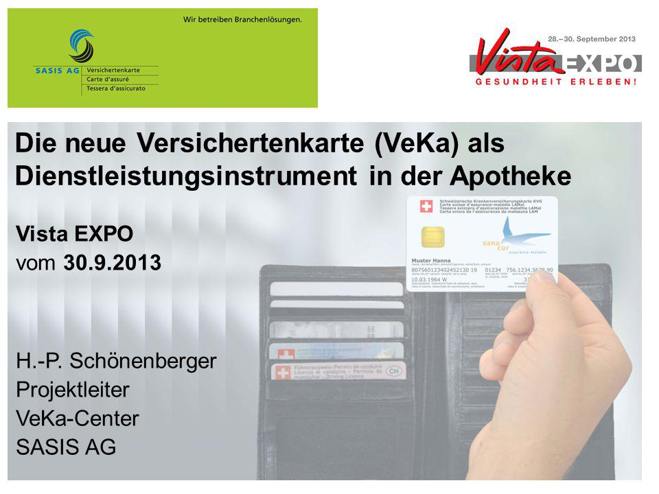 Die neue Versichertenkarte (VeKa) als Dienstleistungsinstrument in der Apotheke