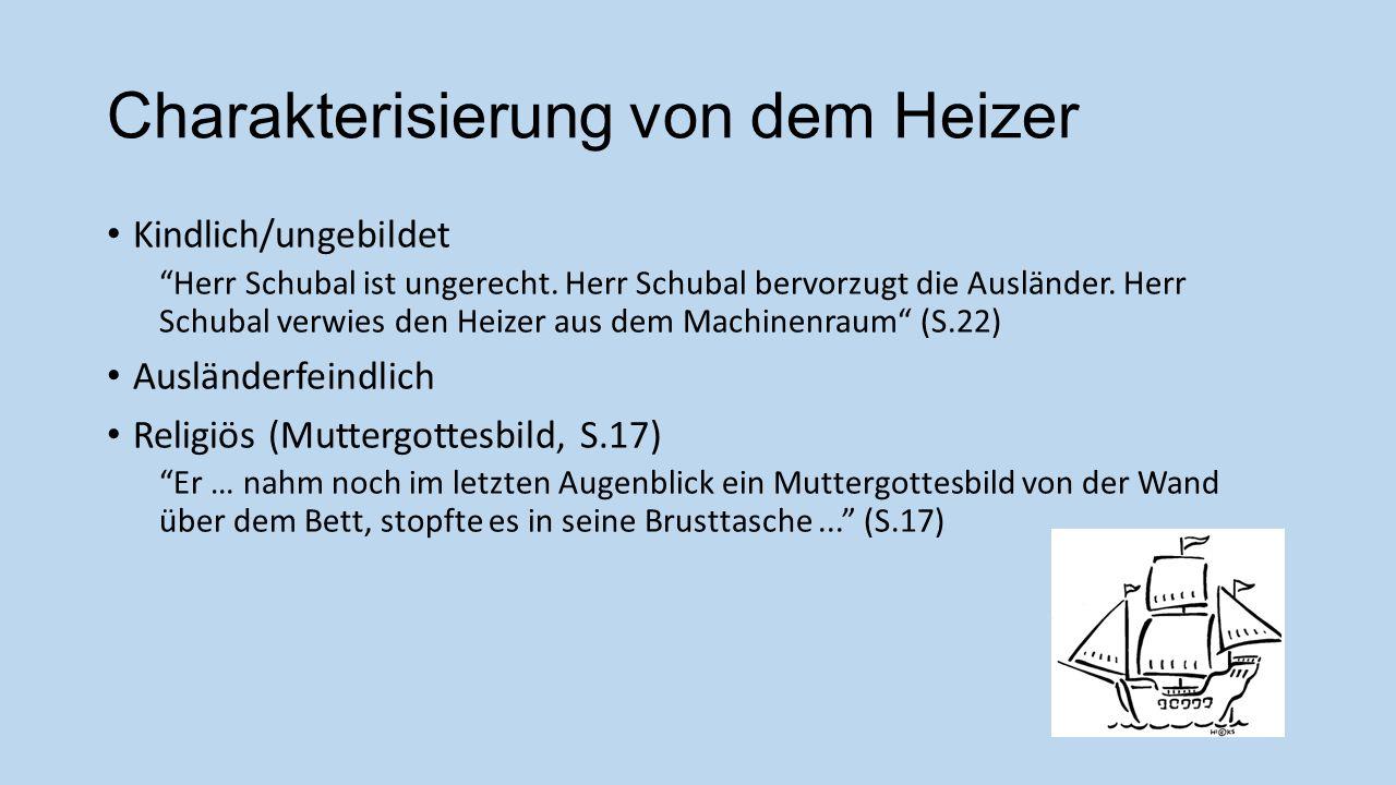 Charakterisierung von dem Heizer