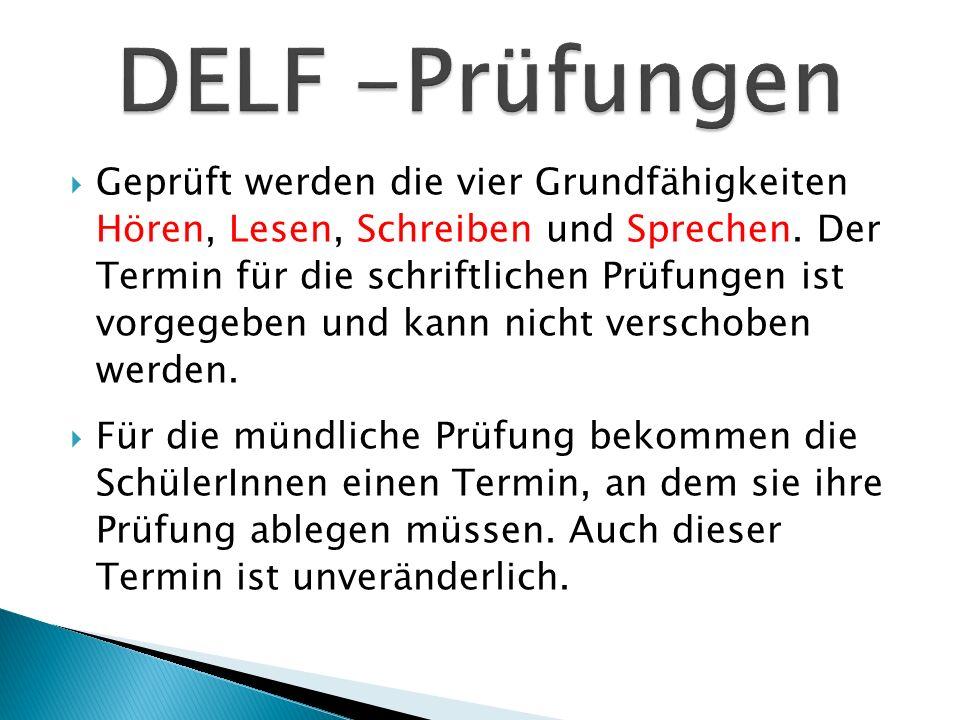 DELF -Prüfungen