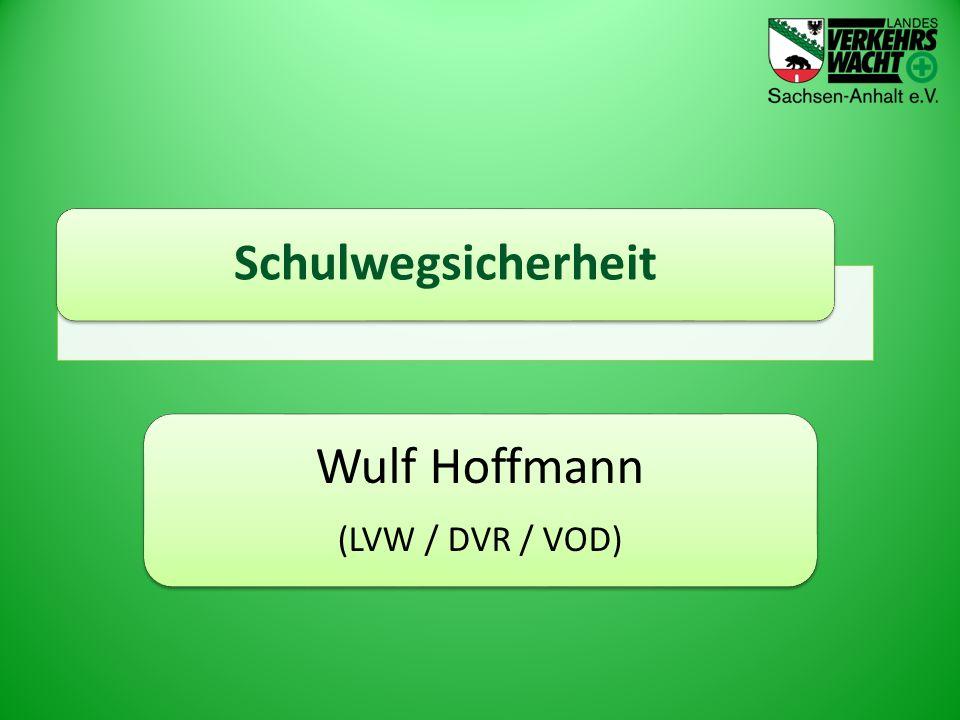 Schulwegsicherheit Wulf Hoffmann (LVW / DVR / VOD)