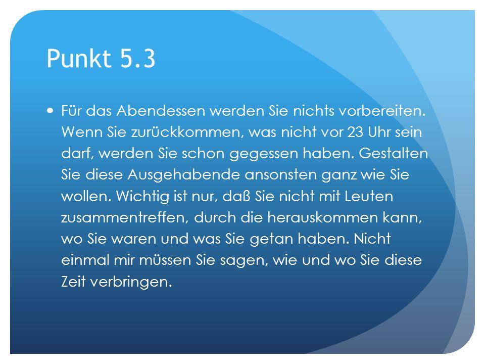 Punkt 5.3