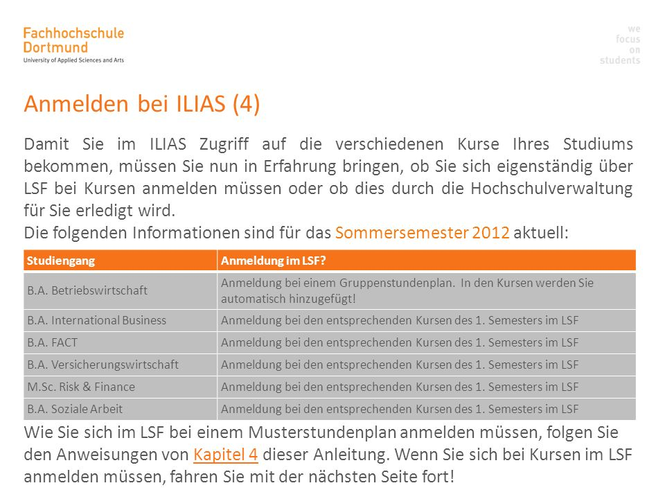 Anmelden bei ILIAS (4)