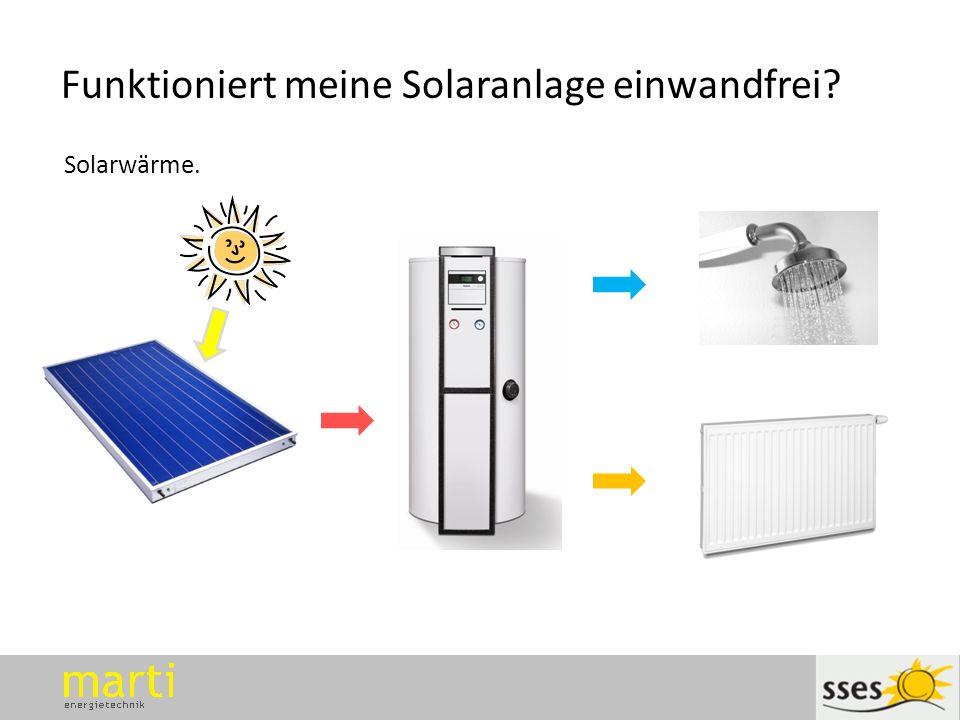 Funktioniert meine Solaranlage einwandfrei
