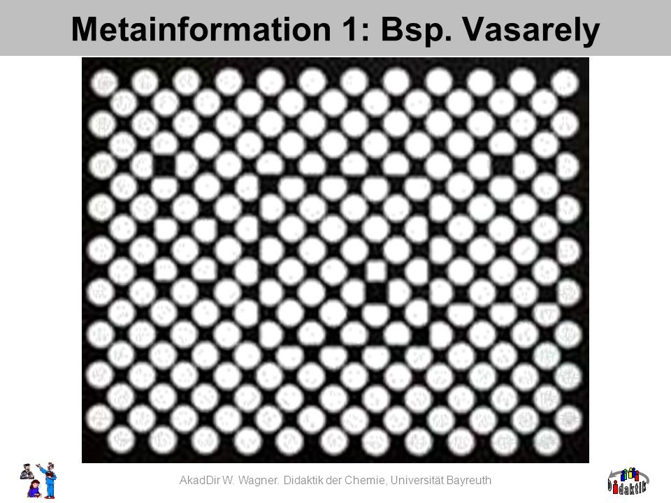 Metainformation 1: Bsp. Vasarely