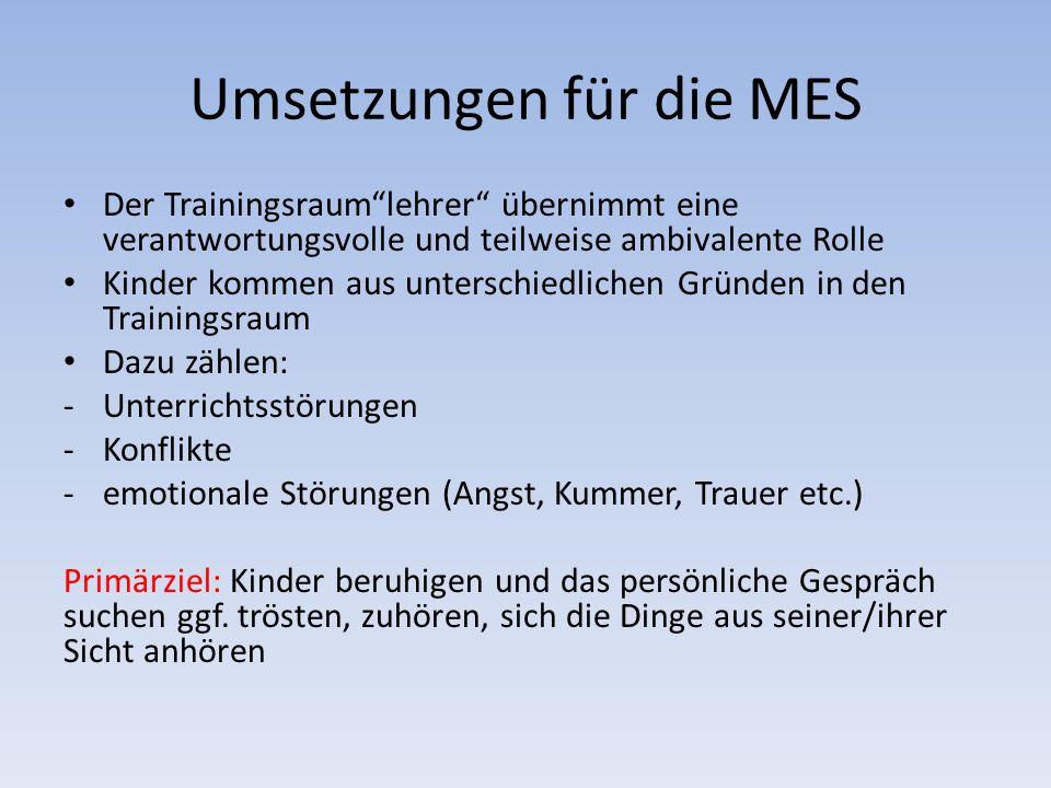 Umsetzungen für die MES