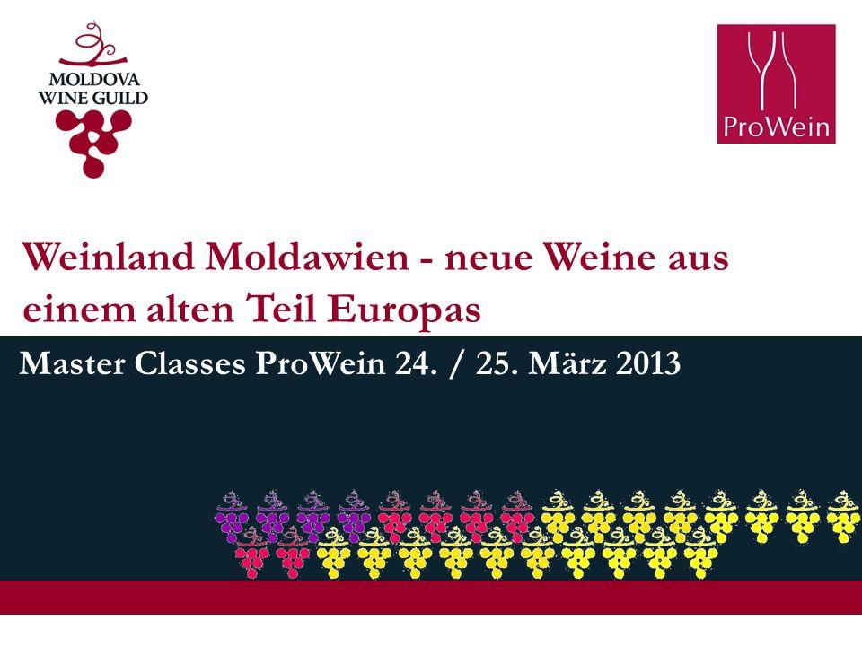 Weinland Moldawien - neue Weine aus einem alten Teil Europas