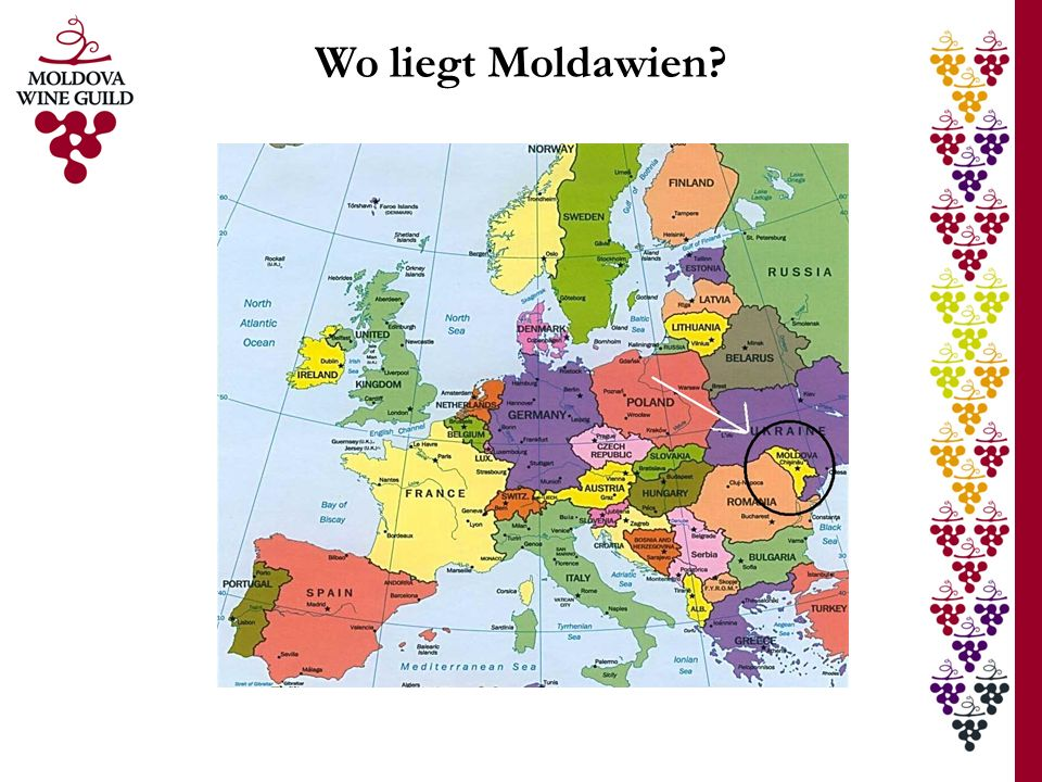 Wo liegt Moldawien