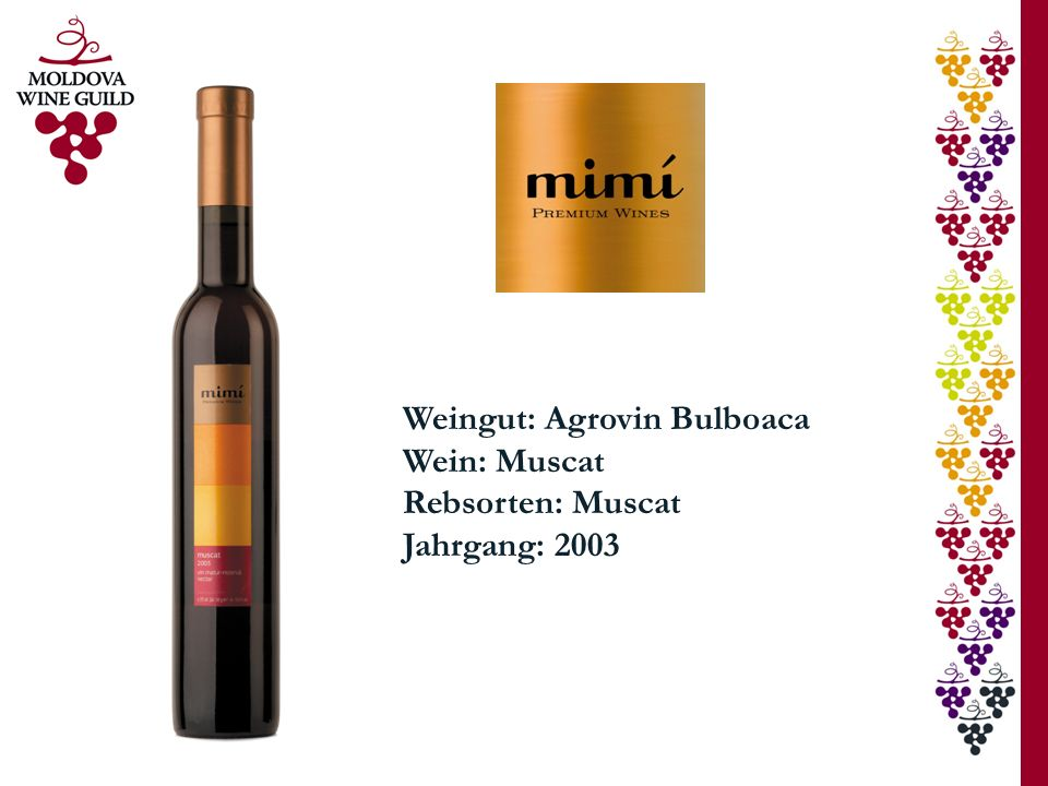 Weingut: Agrovin Bulboaca