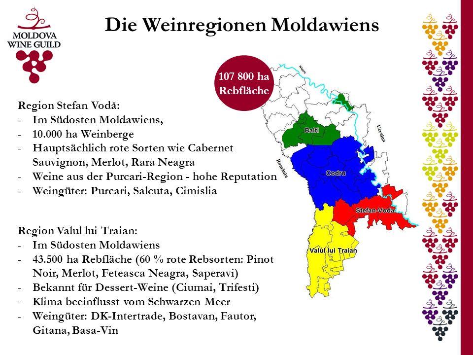 Die Weinregionen Moldawiens