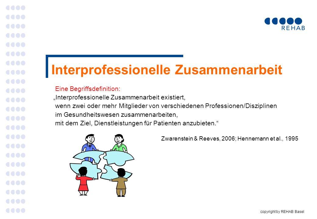 Interprofessionelle Zusammenarbeit