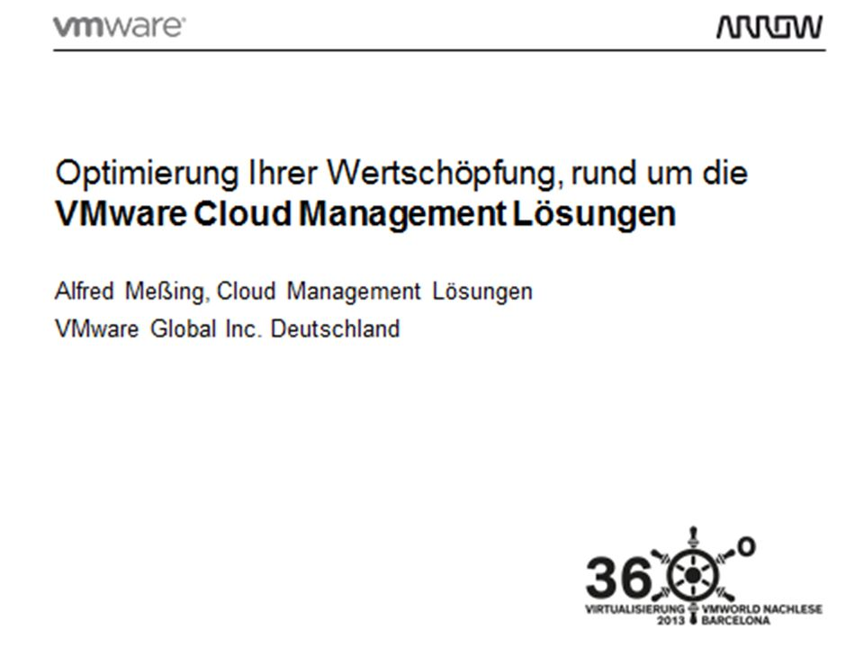 Alfred Meßing, Vertrieb Cloud Management Lösungen