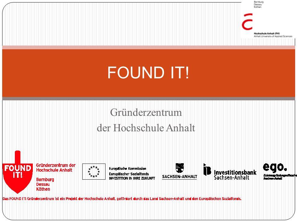 Gründerzentrum der Hochschule Anhalt