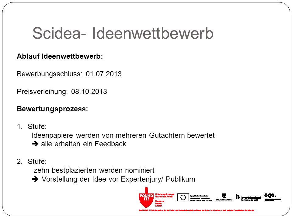 Scidea- Ideenwettbewerb