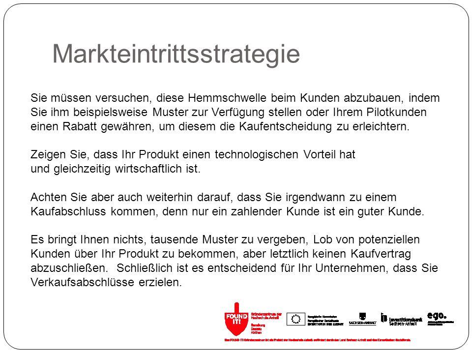 Markteintrittsstrategie