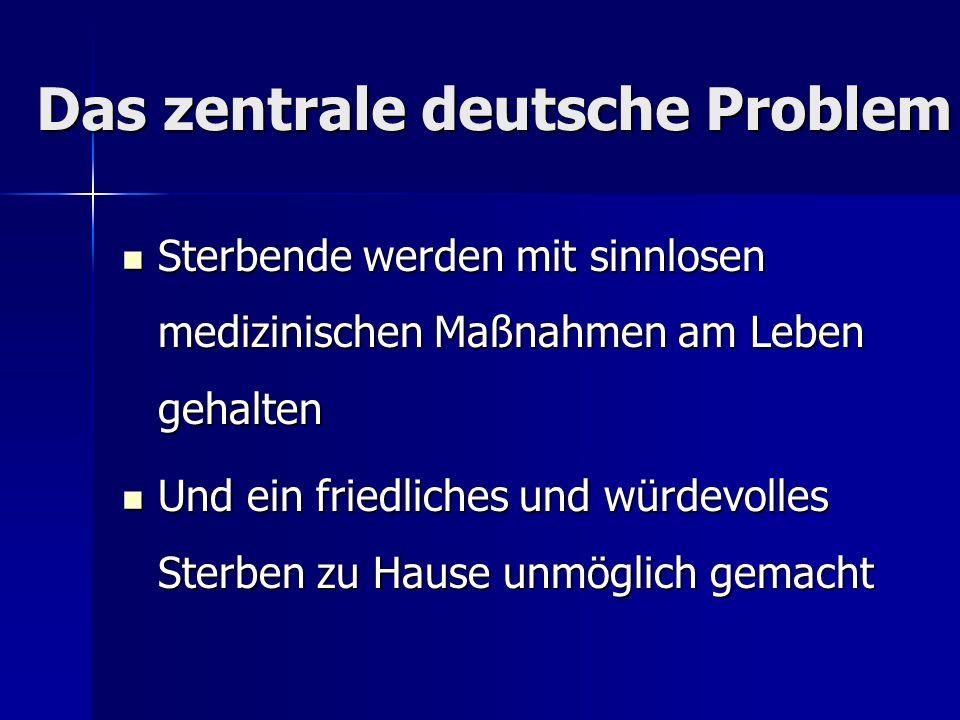 Das zentrale deutsche Problem