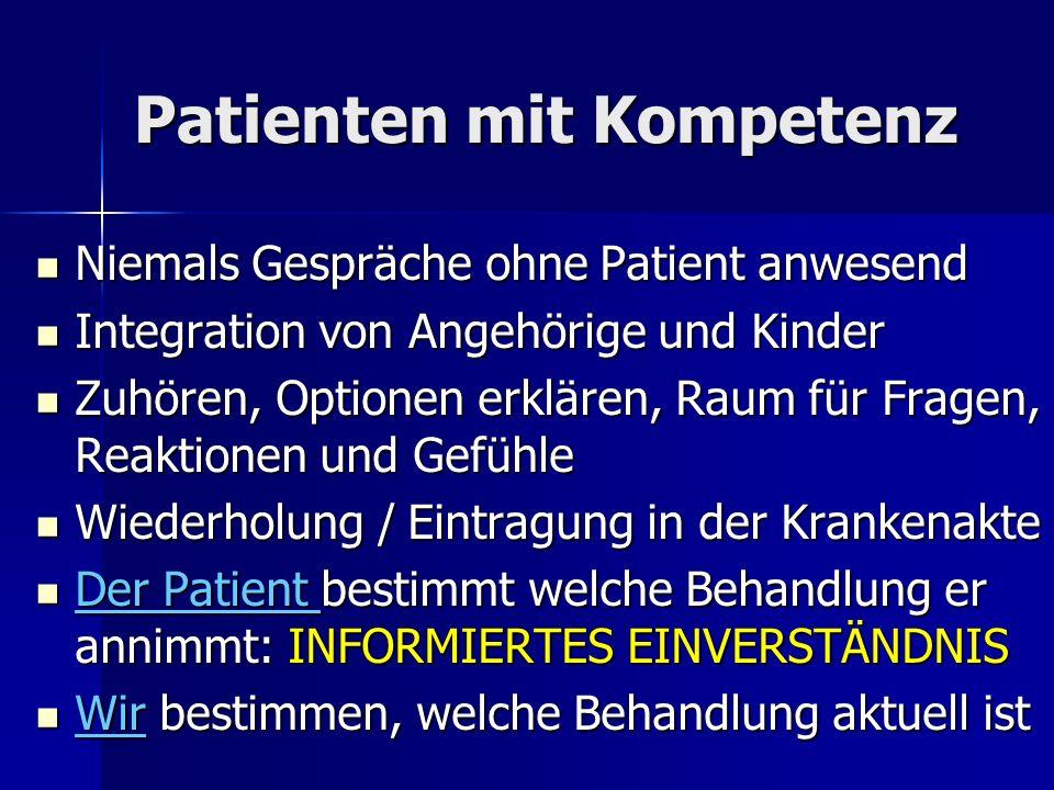 Patienten mit Kompetenz