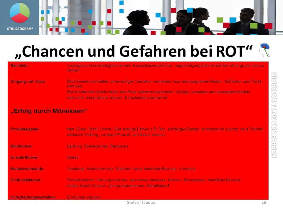 """""""Chancen und Gefahren bei ROT"""