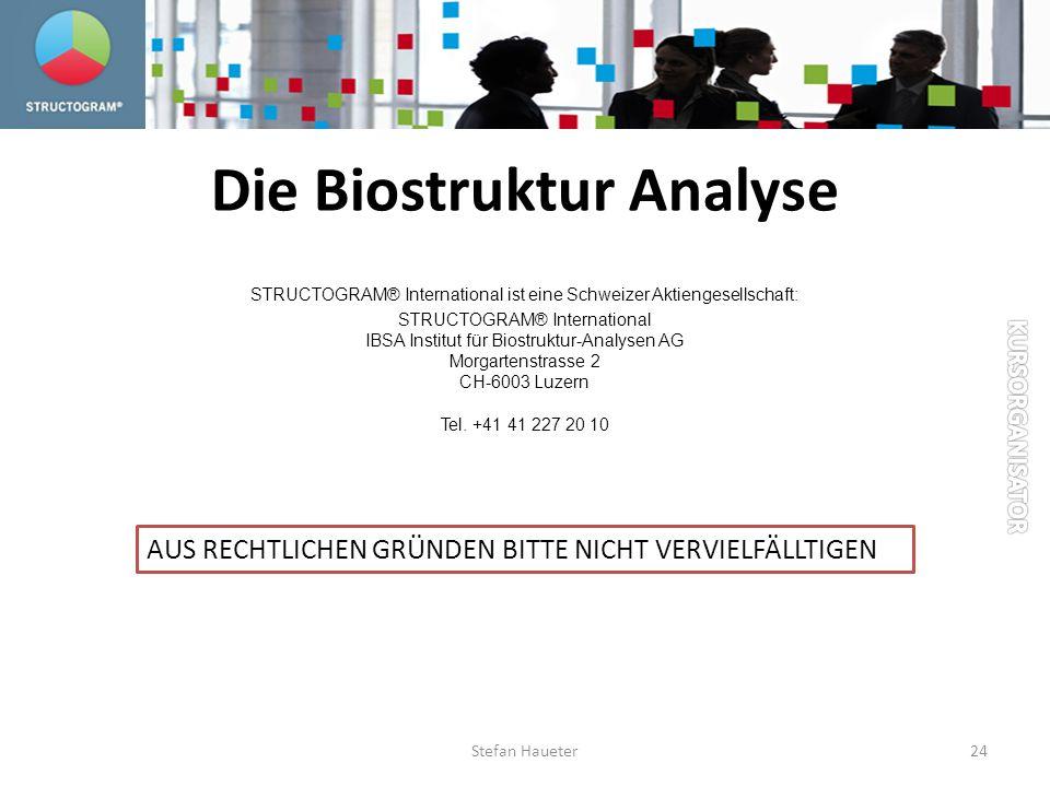 Die Biostruktur Analyse