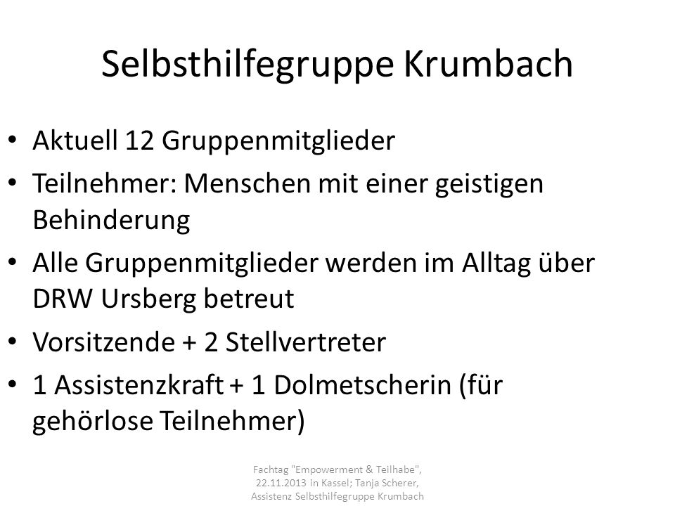 Selbsthilfegruppe Krumbach