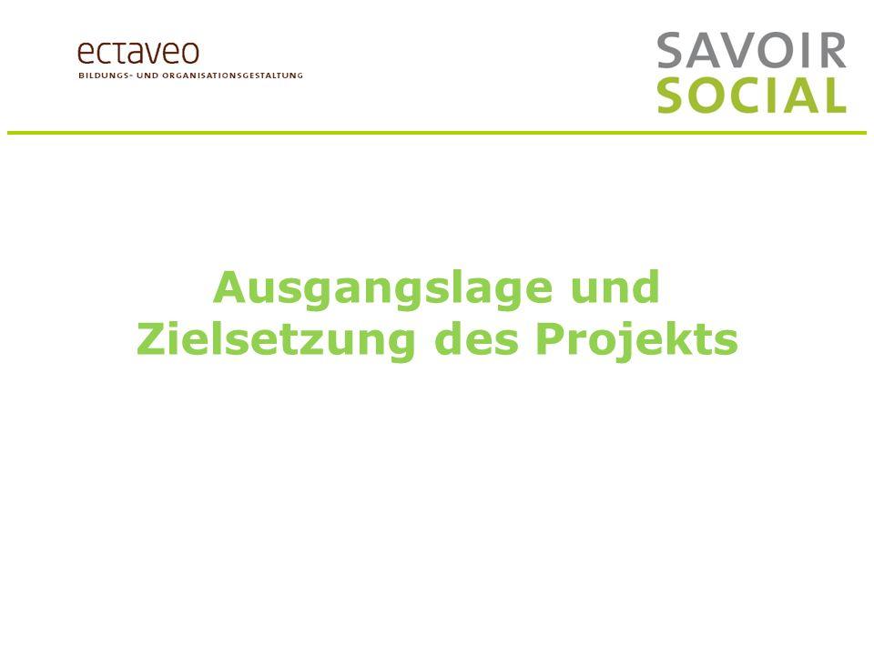 Ausgangslage und Zielsetzungen des Projekts