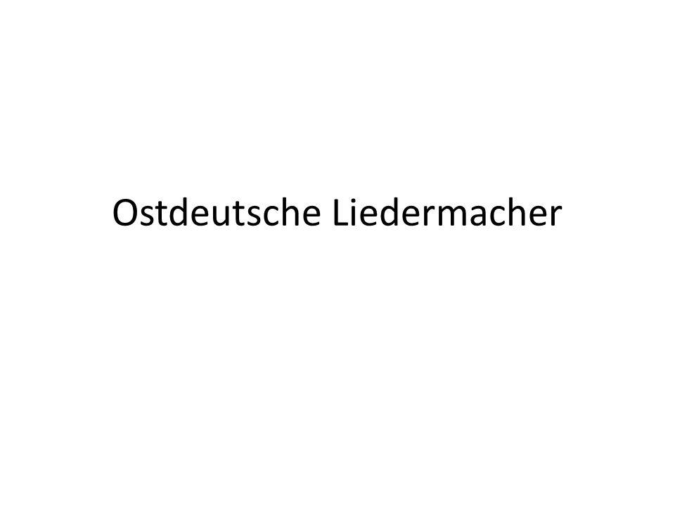 Ostdeutsche Liedermacher
