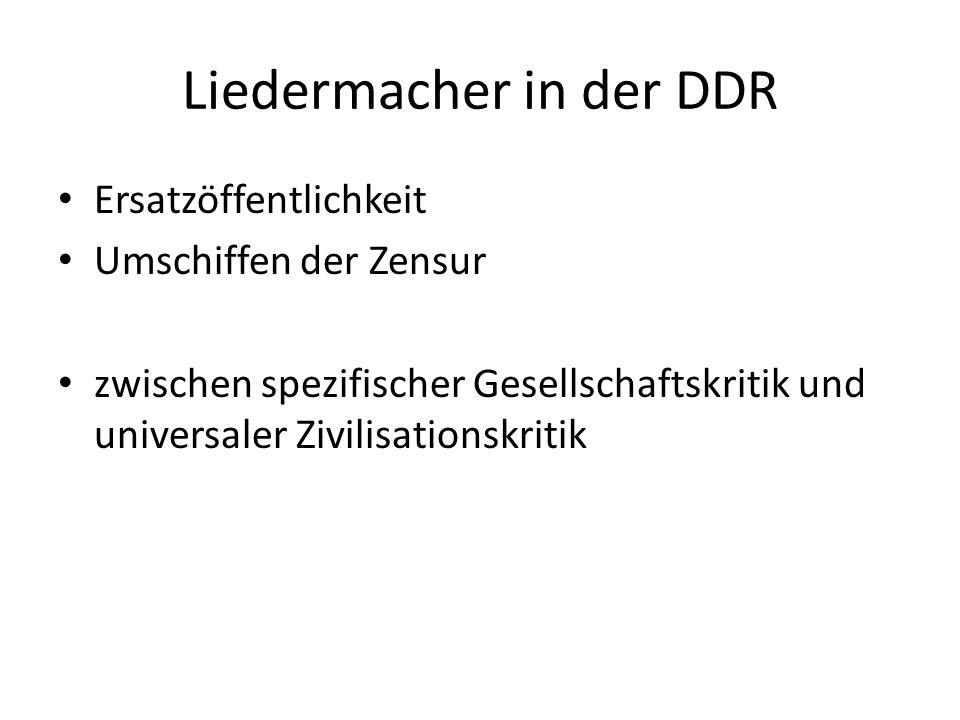 Liedermacher in der DDR