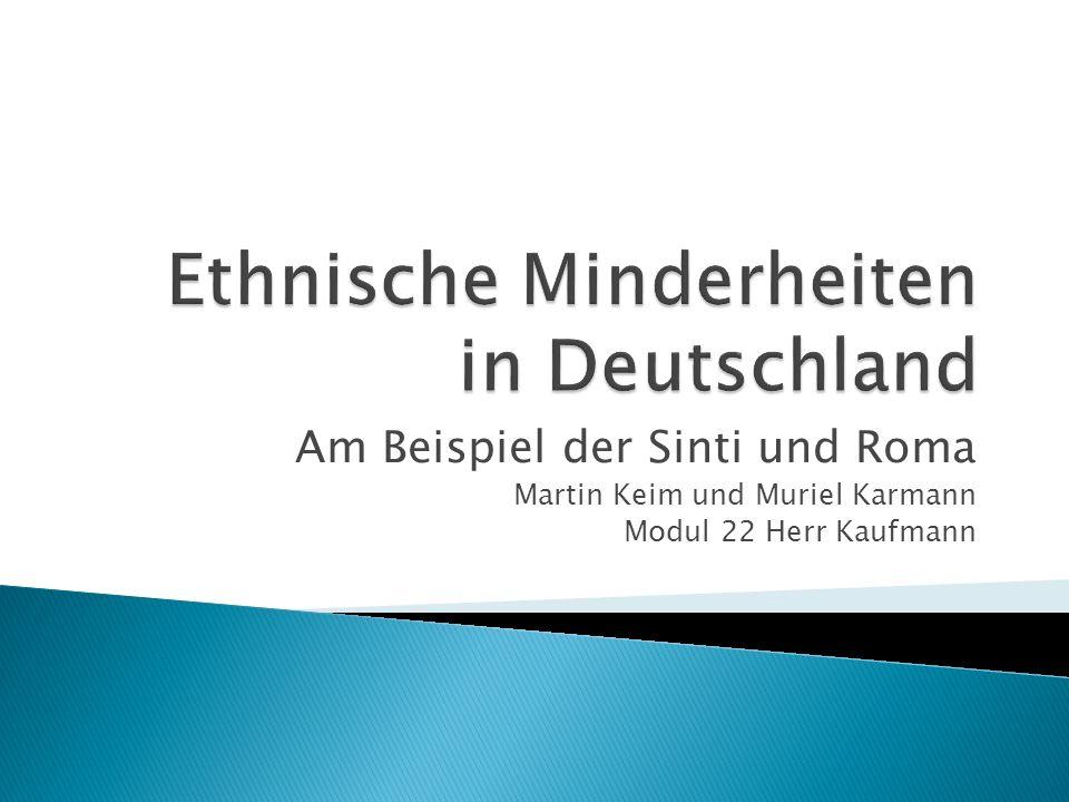 Ethnische Minderheiten in Deutschland