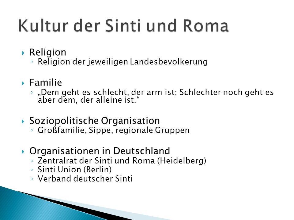 Kultur der Sinti und Roma