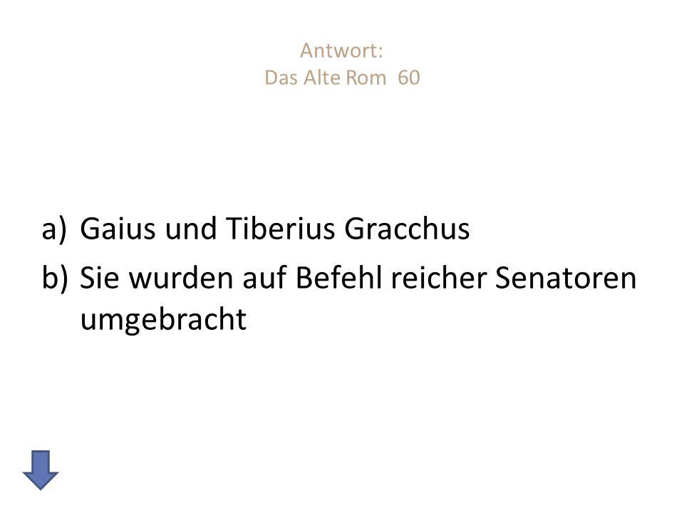 Gaius und Tiberius Gracchus
