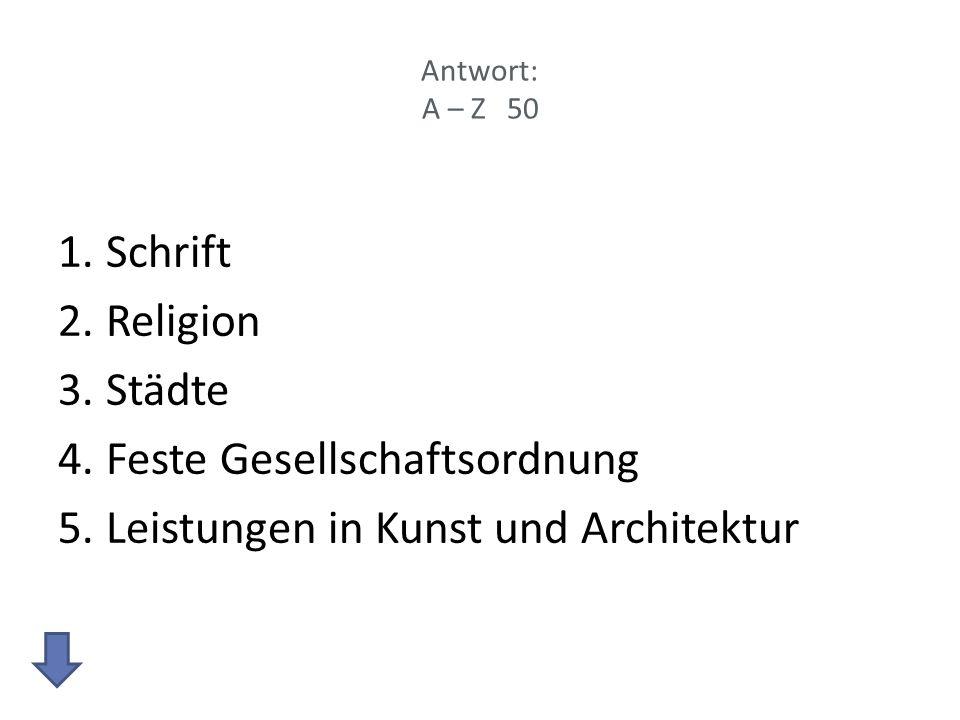 Feste Gesellschaftsordnung Leistungen in Kunst und Architektur