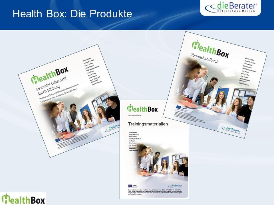 Health Box: Die Produkte