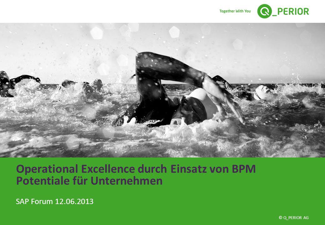 Operational Excellence durch Einsatz von BPM Potentiale für Unternehmen