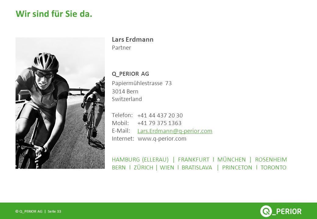 Lars Erdmann Partner Papiermühlestrasse 73 3014 Bern Switzerland