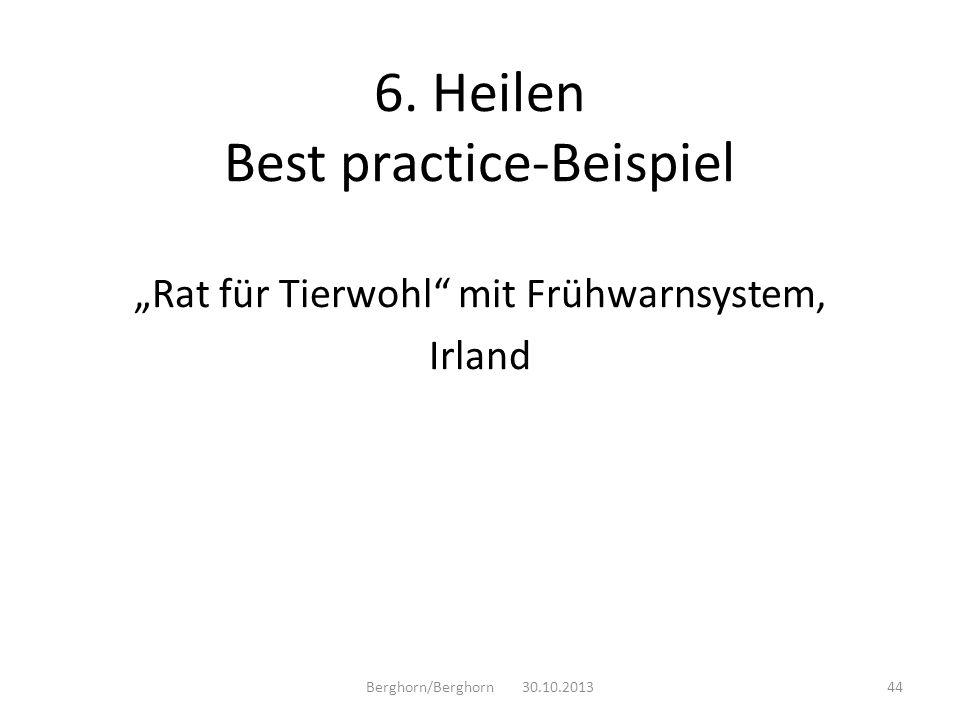 6. Heilen Best practice-Beispiel