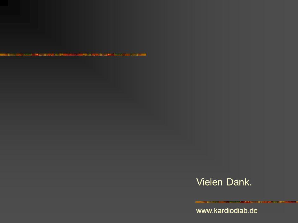 Vielen Dank. www.kardiodiab.de