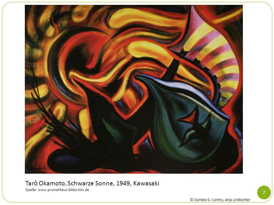 Tarô Okamoto, Schwarze Sonne, 1949, Kawasaki