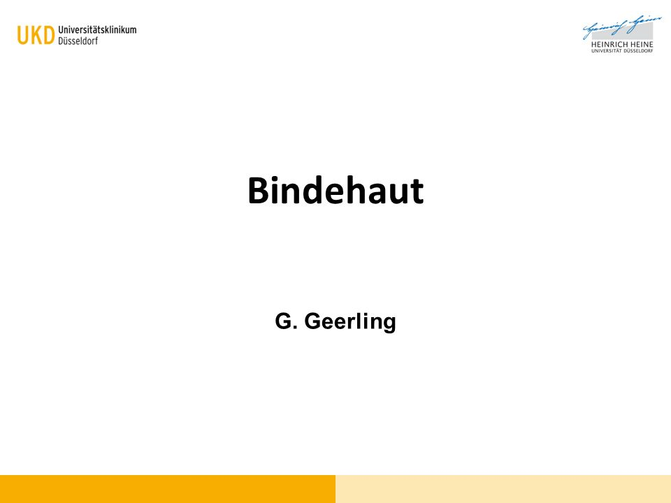Bindehaut G. Geerling