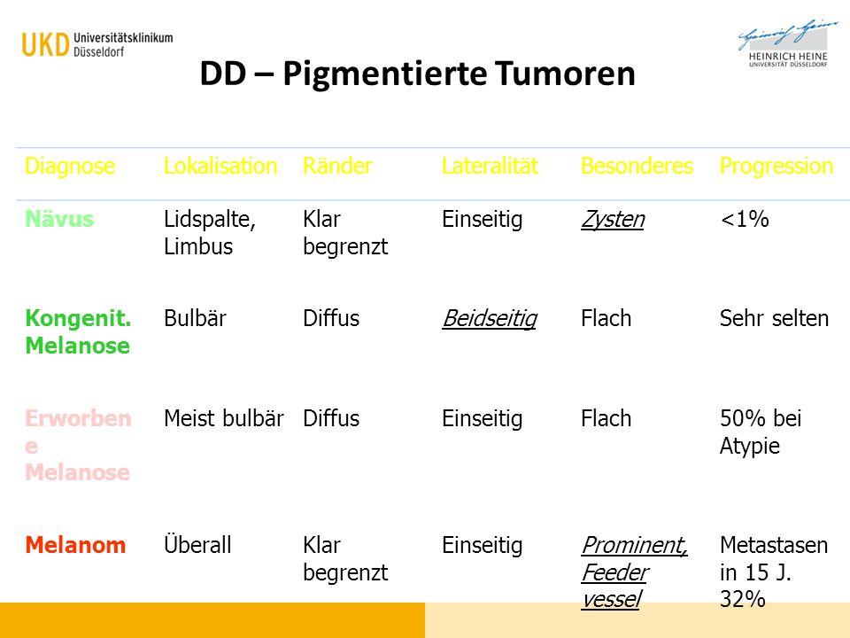 DD – Pigmentierte Tumoren
