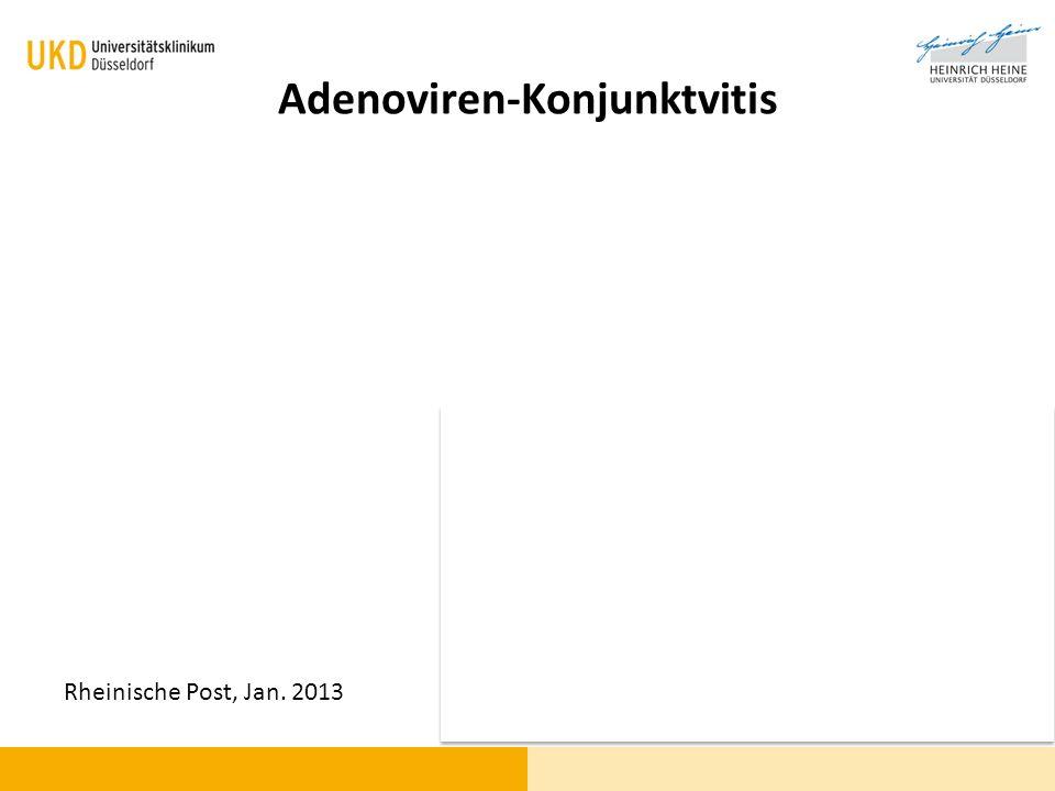 Adenoviren-Konjunktvitis