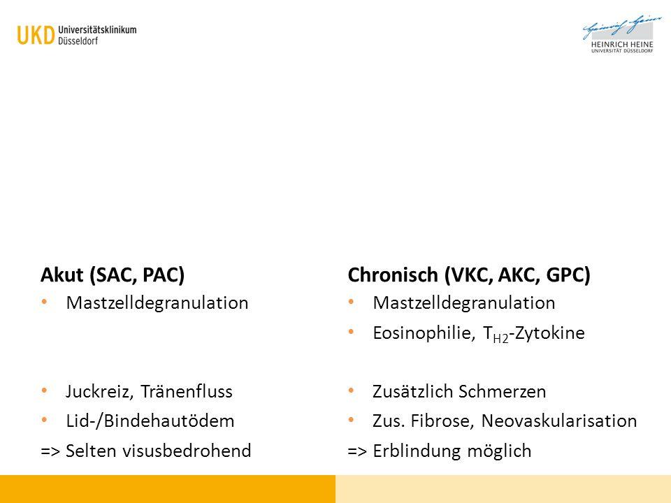 Chronisch (VKC, AKC, GPC)