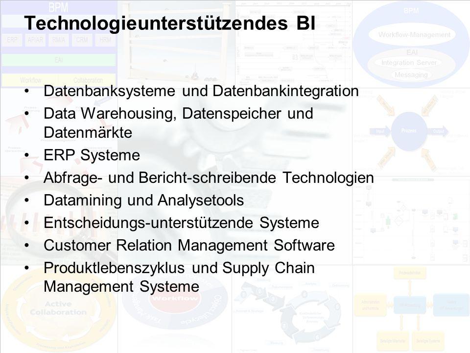 Technologieunterstützendes BI