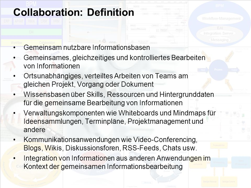 Collaboration: Definition