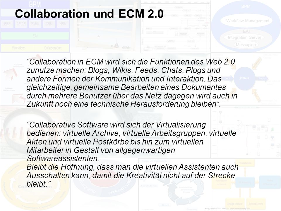 Collaboration und ECM 2.0