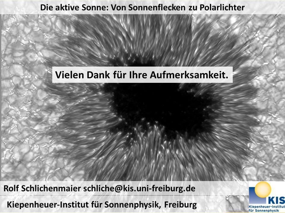 Die aktive Sonne: Von Sonnenflecken zu Polarlichter