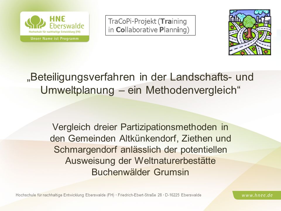 TraCoPi-Projekt (Training in Collaborative Planning)