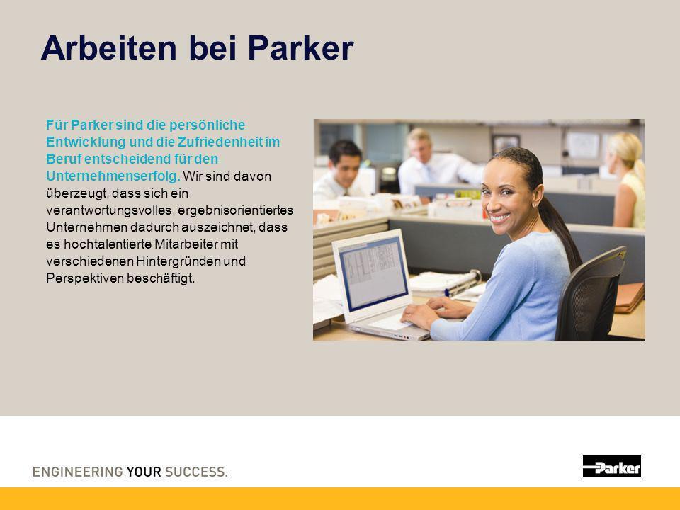 Arbeiten bei Parker