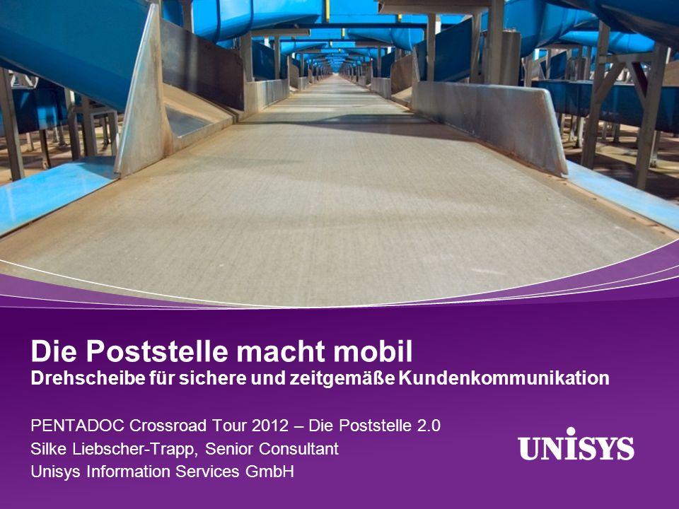 Die Poststelle macht mobil Drehscheibe für sichere und zeitgemäße Kundenkommunikation