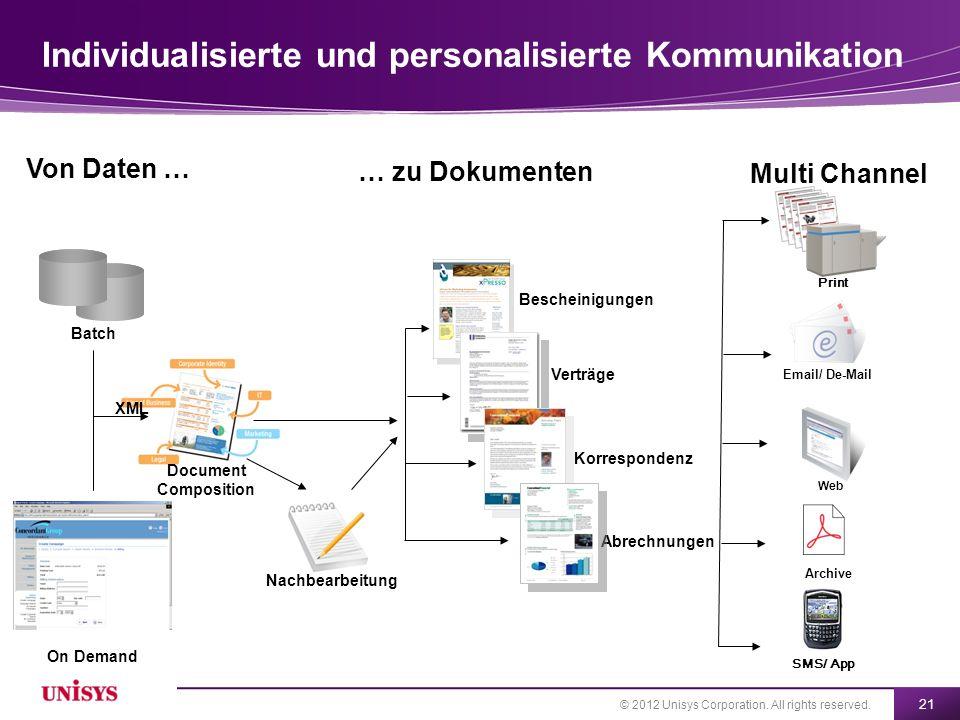 Individualisierte und personalisierte Kommunikation