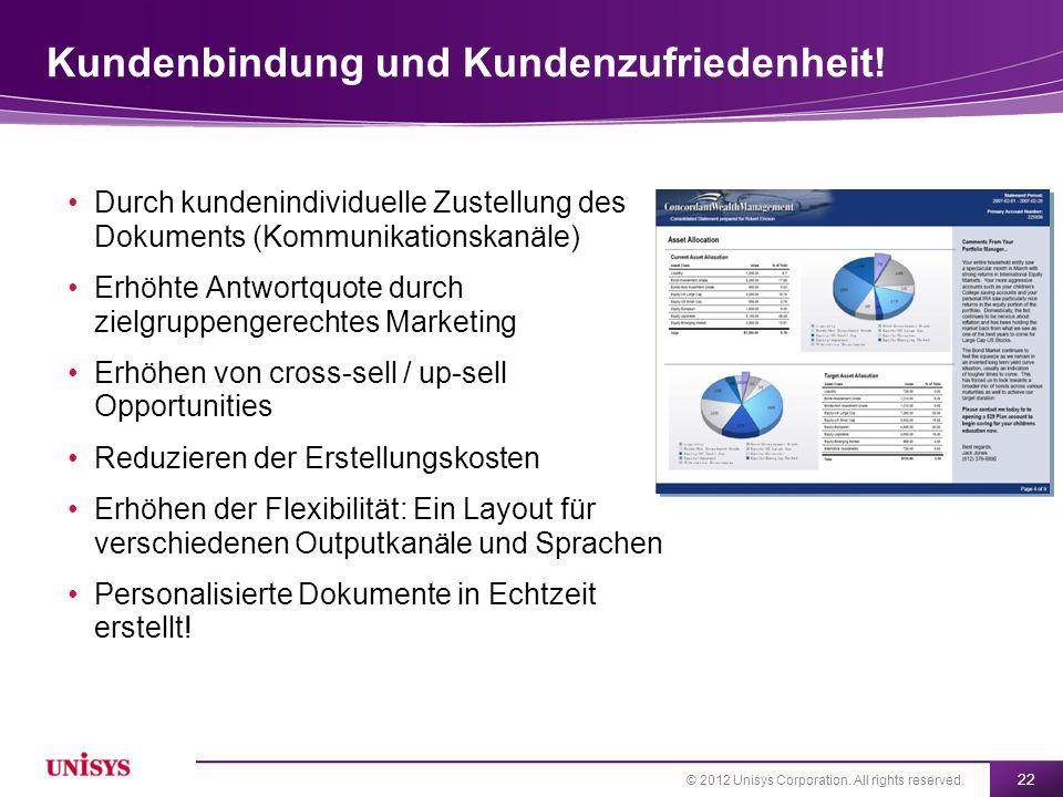 Kundenbindung und Kundenzufriedenheit!
