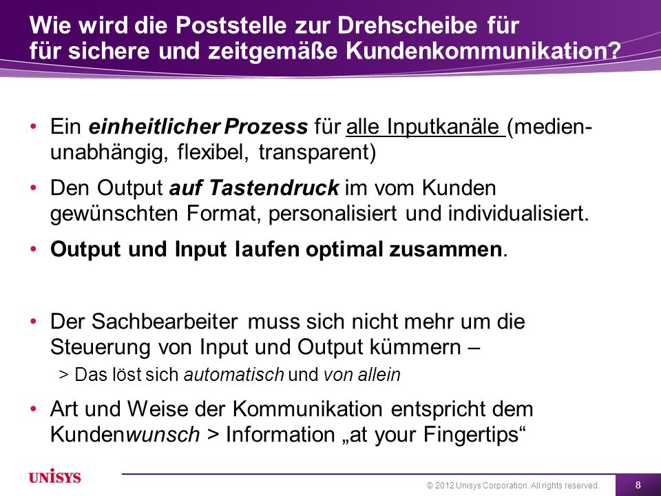 Wie wird die Poststelle zur Drehscheibe für für sichere und zeitgemäße Kundenkommunikation